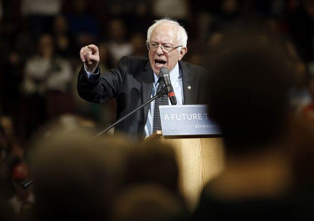 Sénateur indépendant du Vermont Bernie Sanders