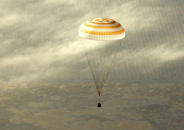 Le module d'atterrissage du vaisseau spatial Soyouz