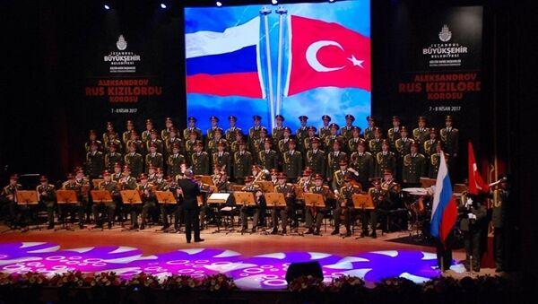 Le pouvoir unificateur de l'art: l'Ensemble Alexandrov se produit à Istanbul - Sputnik France