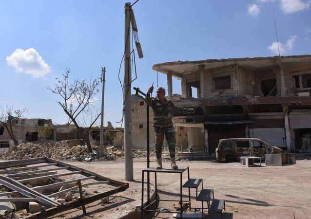 Banlieue d'Alep (image d'illustration)
