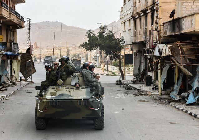 Militaires russes en Syrie