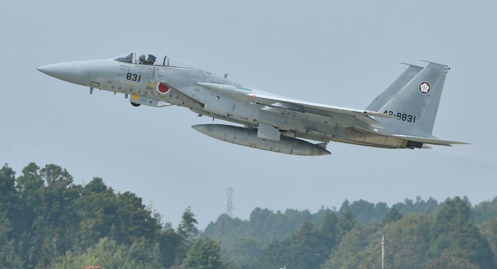 Le F-15J/DJ de l'armée de l'air des Forces japonaises d'autodéfense