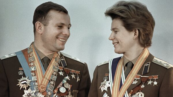Youri Gagarine et Valentina Terechkova - Sputnik France