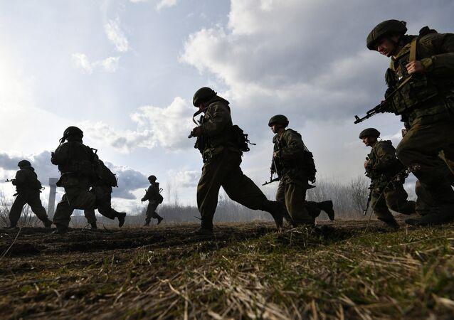 Exercices antiterreur en Russie