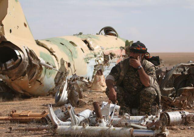 Les frappes de la coalition US en Syrie ont fait 18 morts parmi l'opposition