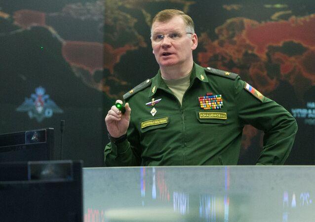 Porte-parole du ministère russe de la Défense Igor Konachenkov