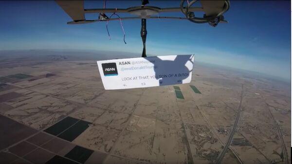 Donald Trump insulté depuis la stratosphère - Sputnik France