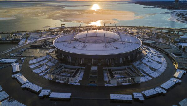 Stade Krestovski à Saint-Pétersbourg - Sputnik France
