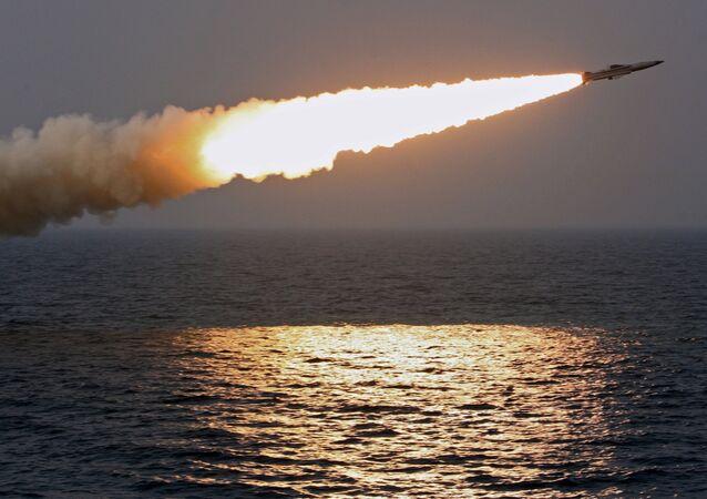 Tir d'un missile