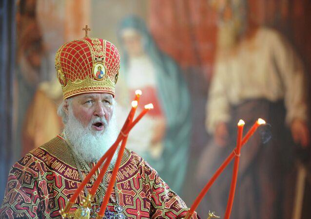 le patriarche Cyrille