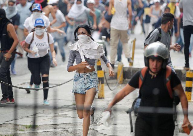 Une manifestation à Caracas (archives)