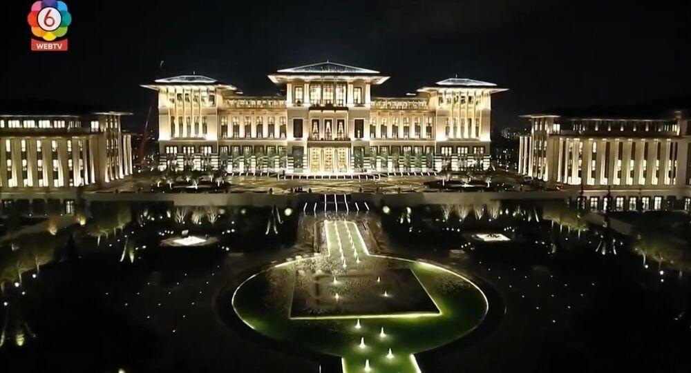 Palais présidentiel d'Erdogan