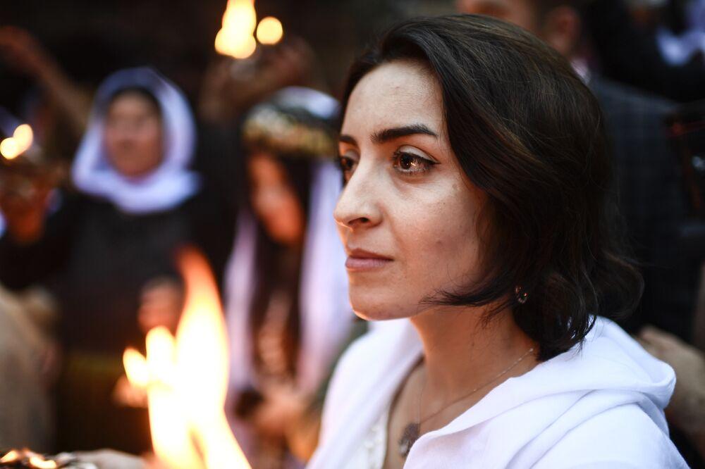Irak: des milliers de Yézidis célèbrent leur nouvel an