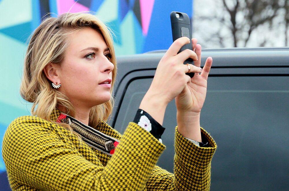La reine du tennis Maria Sharapova