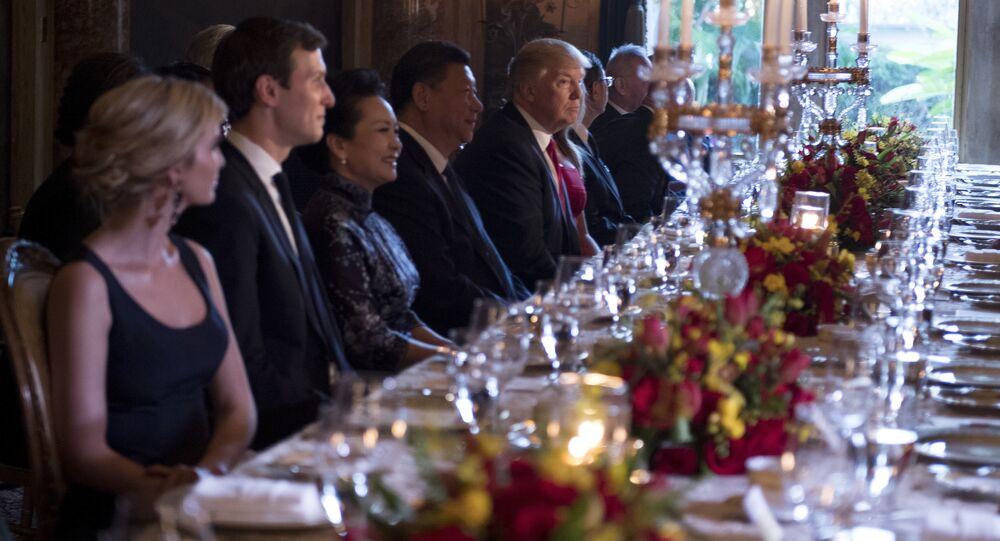 Le gouvernement chinois a donné son feu vert à la fille aînée du Président américain le jour où Ivanka Trump et son époux, Jared Kushner, ont déjeuné avec le Président chinois Xi Jinping en Floride.