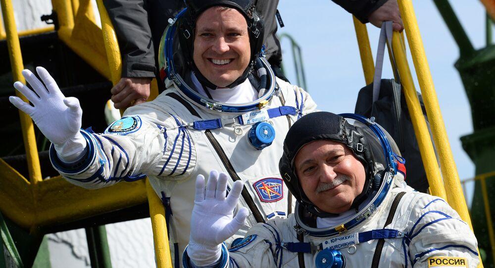 Jack Fischer et Fiodor Iourtchikhine