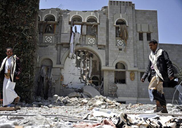 Troisième place : Sana, Yémen