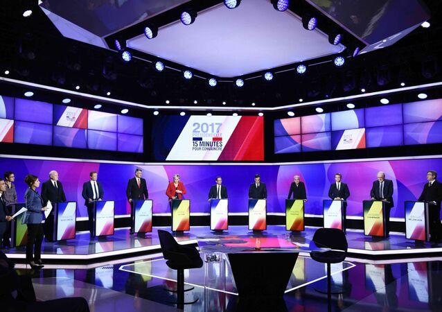 Les derniers «débats» avant la présidentielle, ou une course de 15min pour des candidats