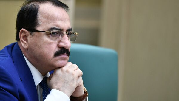 L'ambassadeur syrien en Russie, Riyad Haddad - Sputnik France