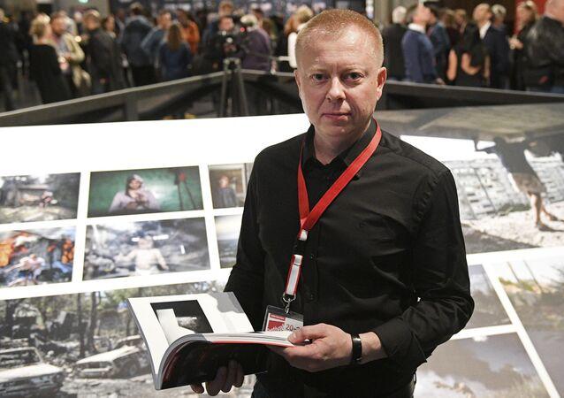 Un photojournaliste de Sputnik reçoit un «Oscar» des photos