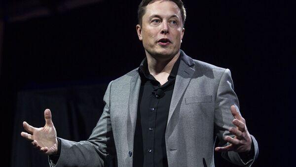 Elon Musk, CEO of Tesla Motors and SpaceX - Sputnik France