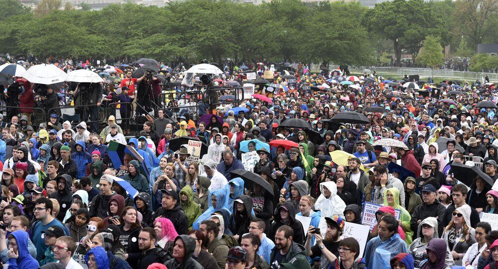 Marche pour la science à Washington