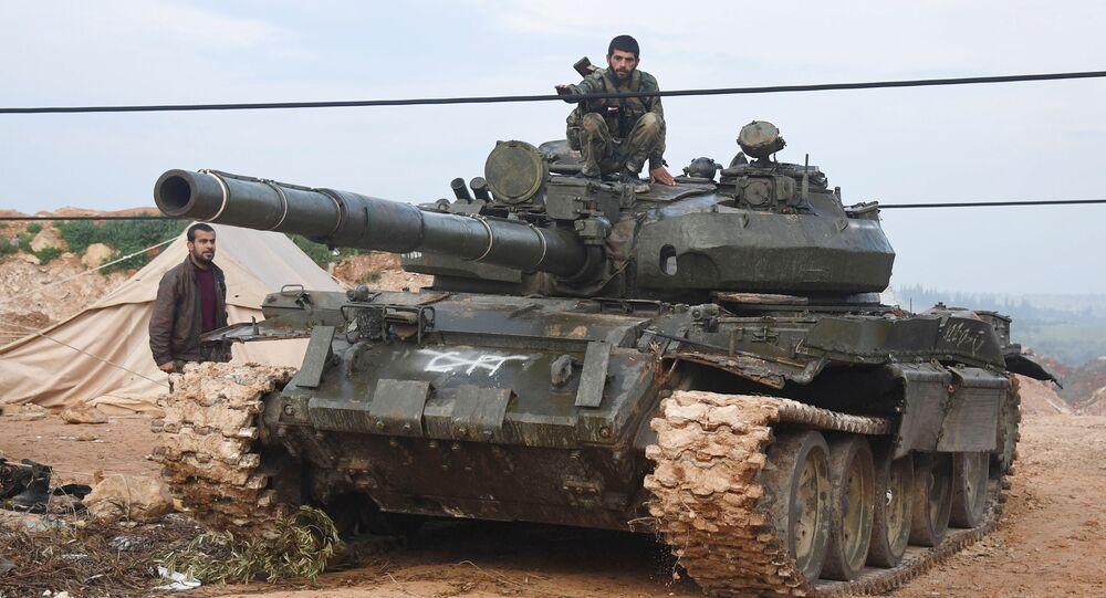 L'offensive de l'armée syrienne dans la province de Hama