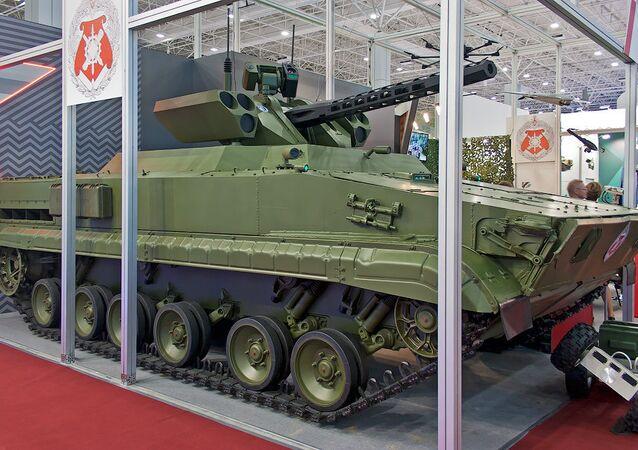 Le robot de combat russe Vikhr