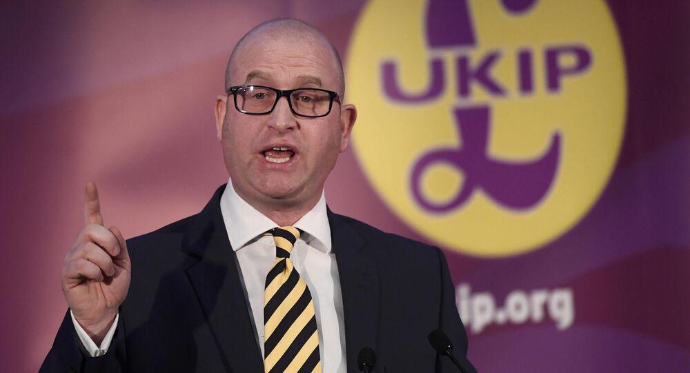 Le chef de l'UKIP annonce sa démission suite à sa défaite aux législatives