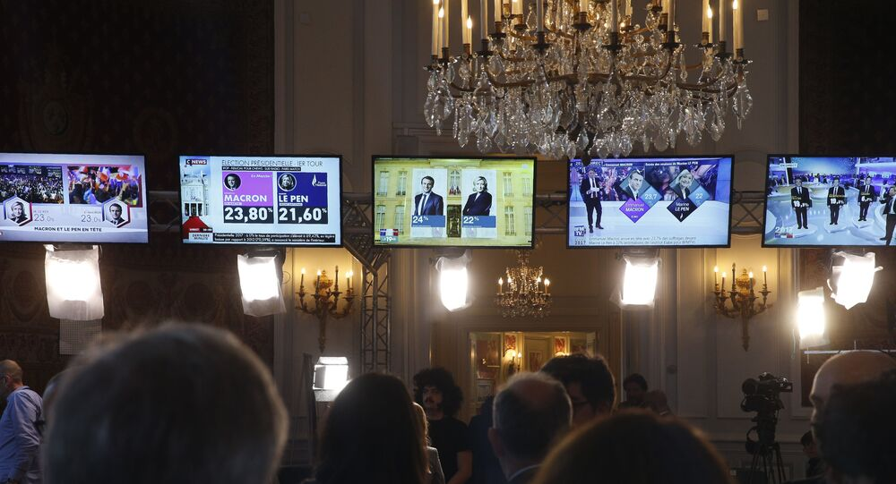 Emmanuel Macron et Marine Le Pen obtiennent 23% des votes (sondage Kantar)