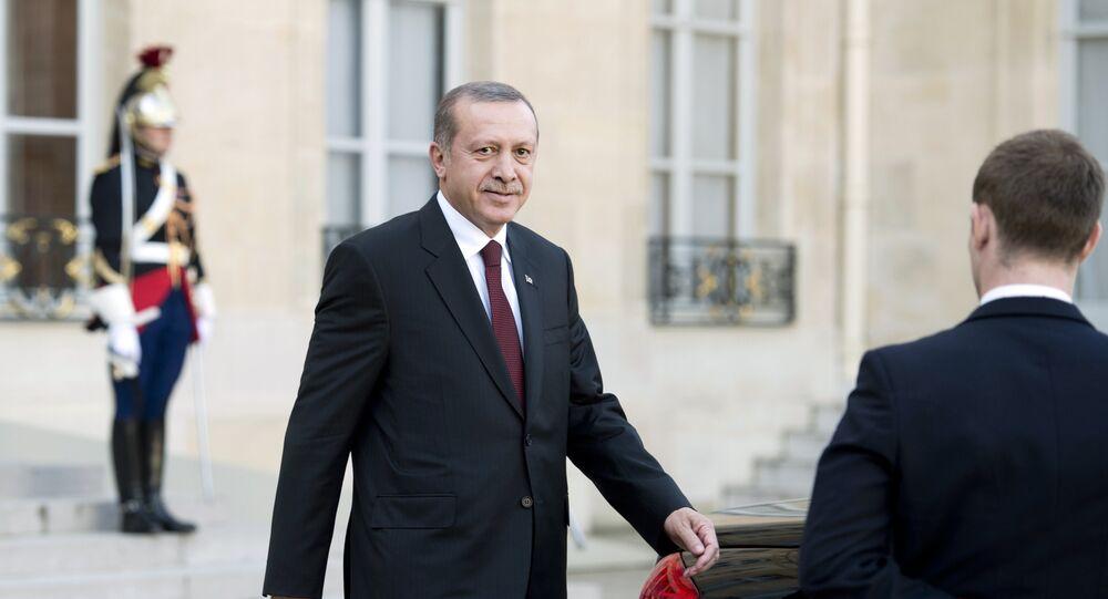 Recep Tayyip Erdogan à l'Elysée