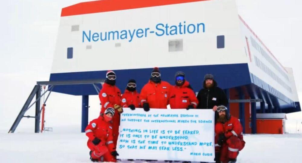 Neumayer station en Antarctique