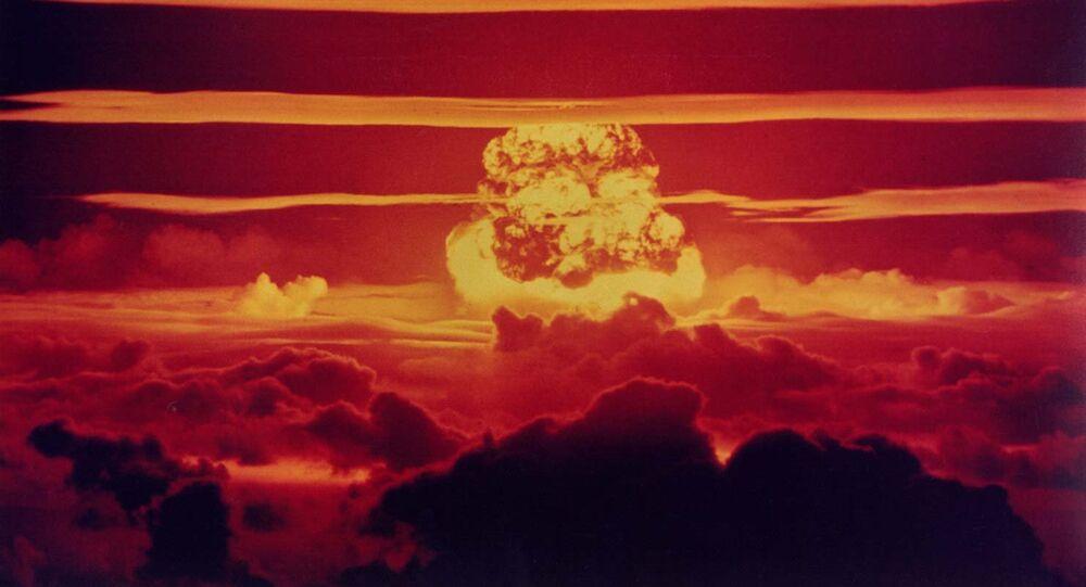 Un champignon nucléaire