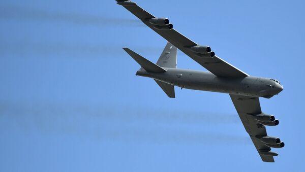 Un bombardier stratégique B-52 Stratofortress de l'armée américaine - Sputnik France
