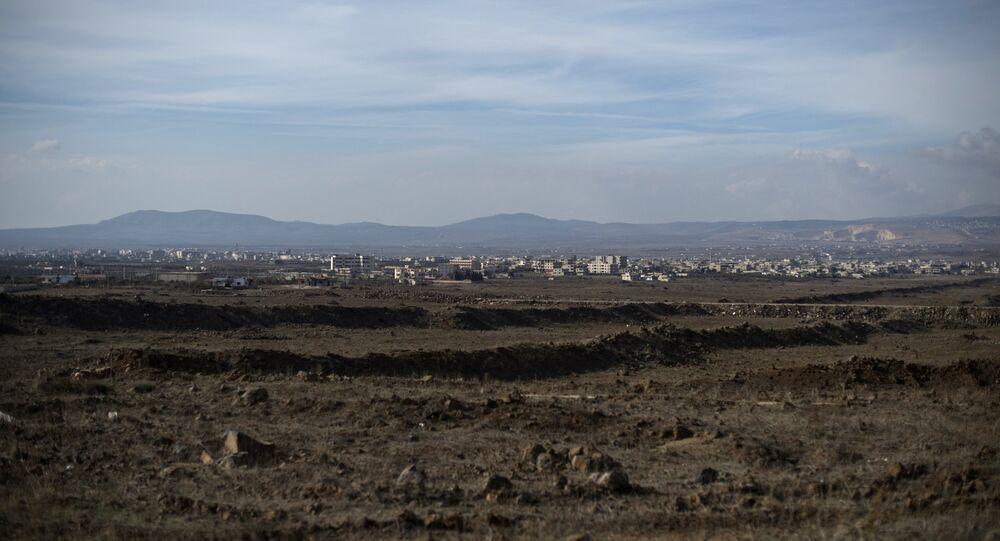 Le Golan observé depuis la Syrie