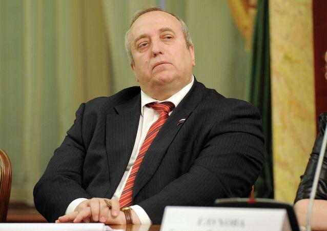 Le vice-président de la commission de la défense et de la sécurité du Conseil de la Fédération (chambre haute du parlement russe), Frants Klintsevich
