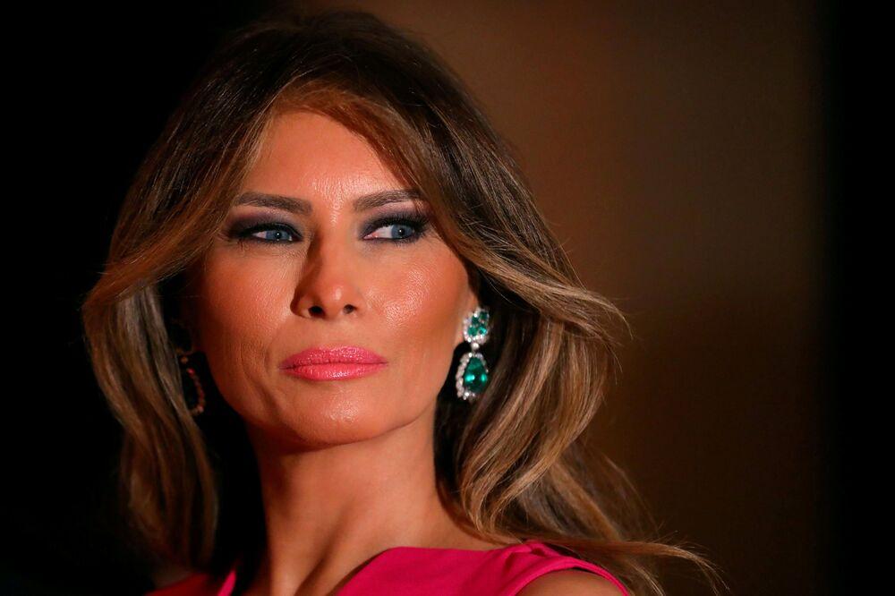 La première dame des Etats-Unis Melania Trump