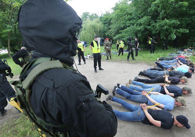 Police paramilitaire en Polgne