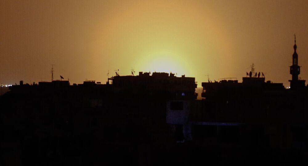 Israël a porté une frappe près de l'aéroport de Damas