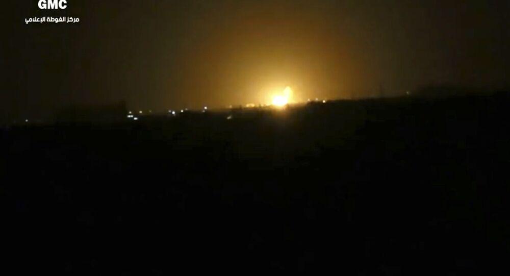 Israël a porté une frappe près de l'aéroport de Damas, confirme une source syrienne