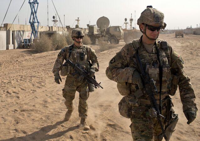 Des militaires de l'U.S. Army
