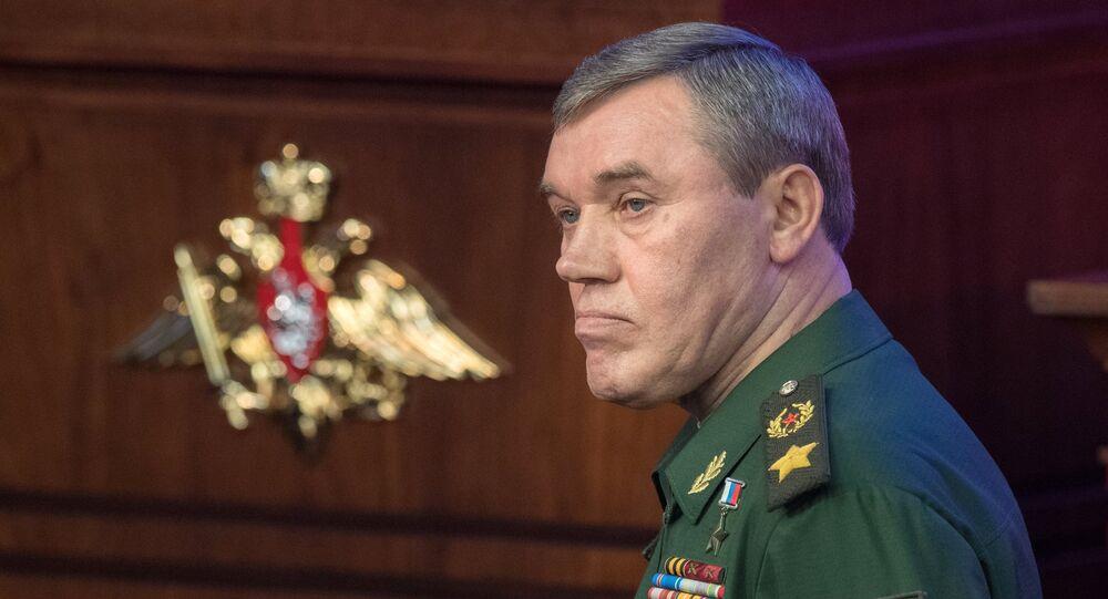 Le général russe Valeri Guerassimov, chef d'état-major des armées