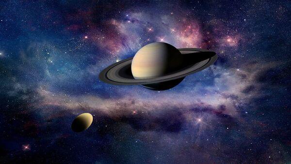 Titan und Saturn - Sputnik France