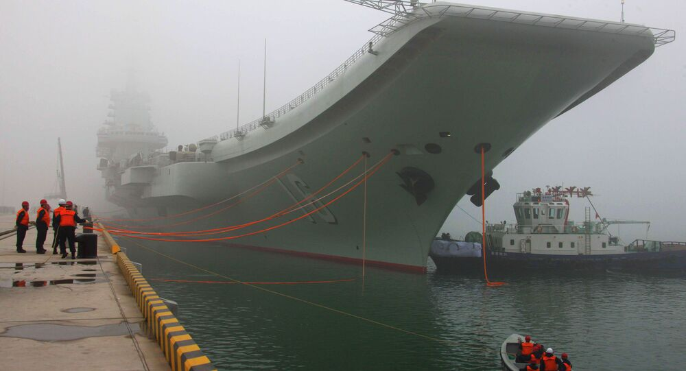 Liaoning, un porte-avions chinois