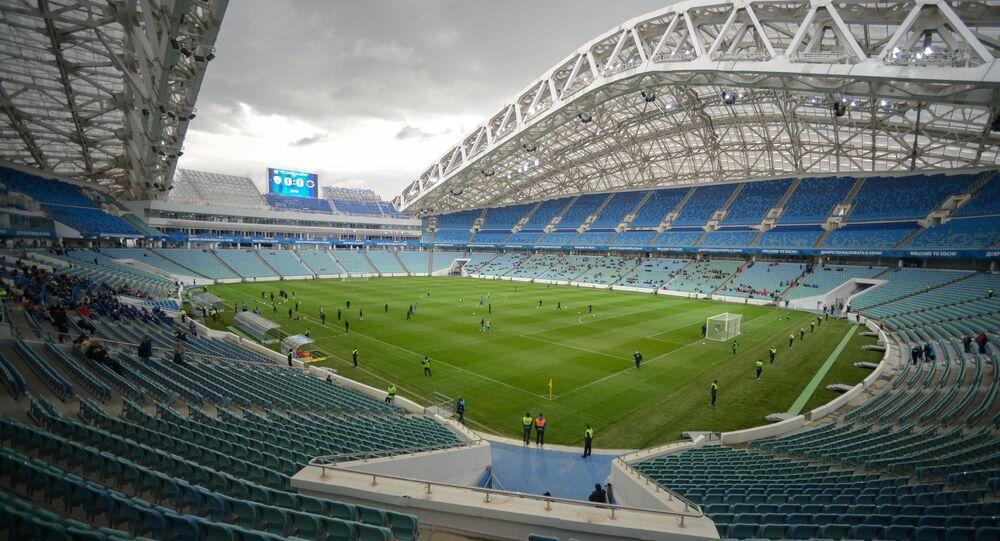 la Coupe des Confédérations en Russie