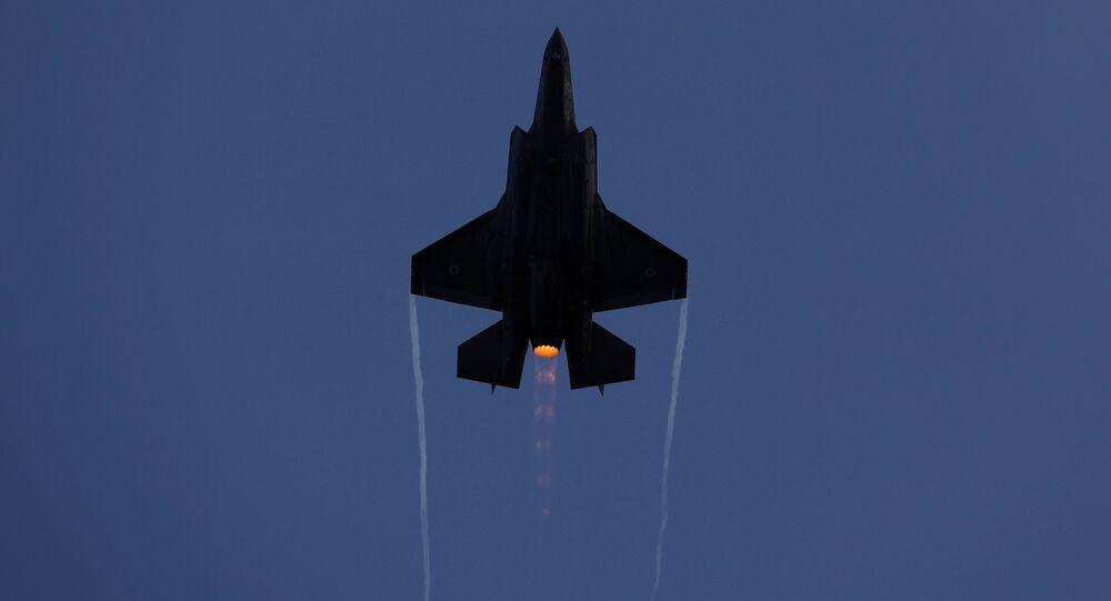 F-35 fighter des forces israéliennes