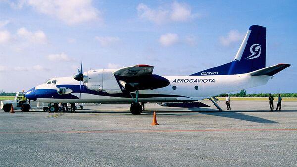 Un An-26 de la compagnie aérienne Aerogaviota (archives) - Sputnik France