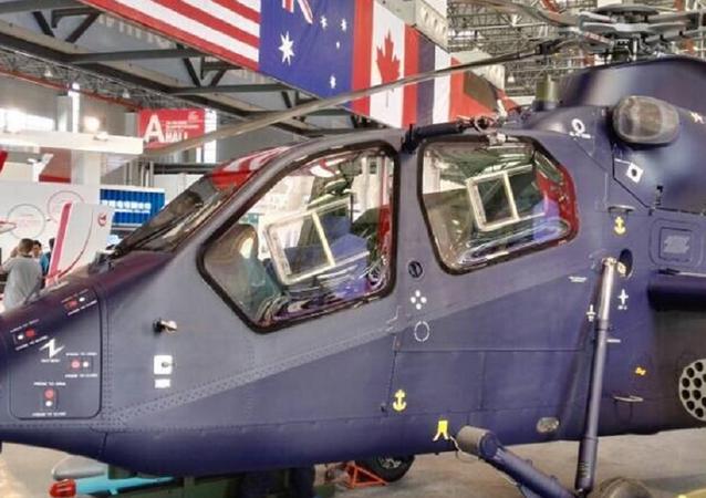 Un hélicoptère léger chinois Z-19E