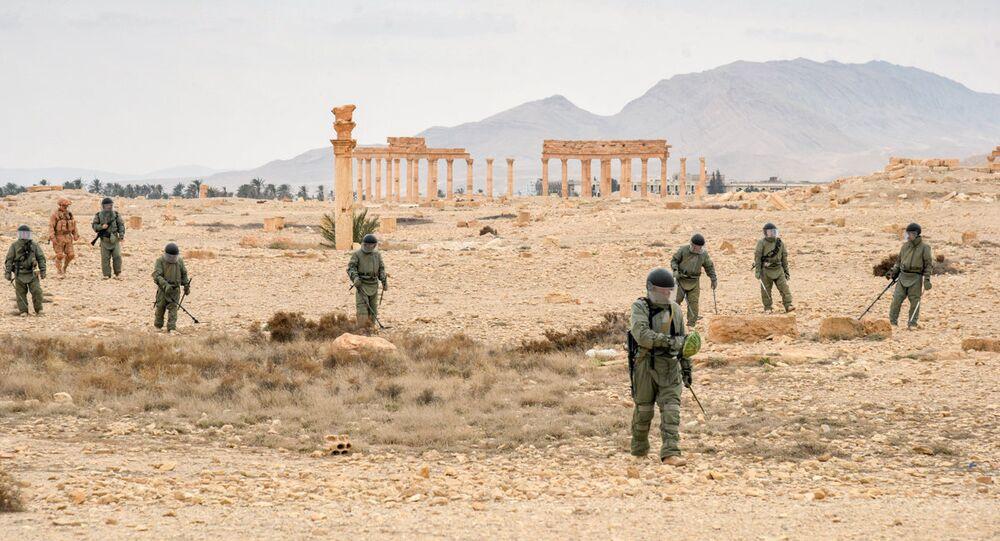 Démineurs russes en Syrie
