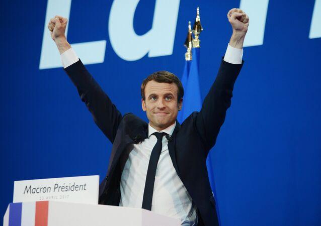 Jean-Marie Le Pen éborgne Macron: «L'avantage, c'est qu'il n'a encore rien fait»